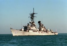 USS GOLDSBOROUGH (DDG-20) Guided Missile Destroyer; 4th ship, 3rd deployment, 3rd decommissioning