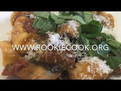 Gnocchi with Tomato and Mushroom - Rookie Cook
