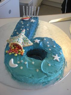 Science Party Space Cake