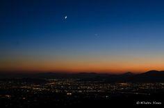 Athens, Moon, Venus and Zeus by Nicolas Simos