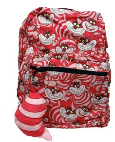Bookbag for next school year? Disney Handbags, Disney Purse, Disney Shoes, Alice In Wonderland Party, Adventures In Wonderland, Disney Style, Disney Love, Chesire Cat, Cute Backpacks