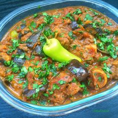Bengan Gosht - Aubergine and Lamb Curry - Powered by @ultimaterecipe