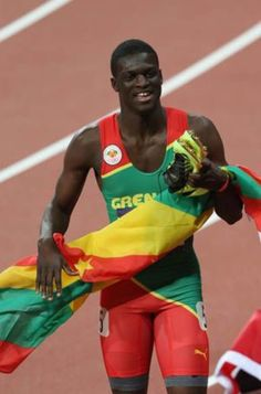 Grenada celebrating Kirani James' gold with a half-holiday : Stltoday