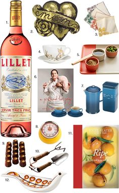 #DearMom You're the classiest cook I've ever met. This round-up of classy food gifts is perfect.