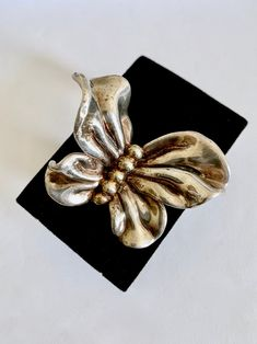 Unmarked Early Florenza Fruit Salad Statement Brooch