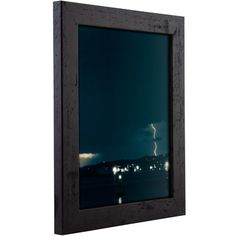 "Craig Frames Inc. 1.25"" Wide Smooth Picture Frame Color: Black, Size: 12"" x 12"""