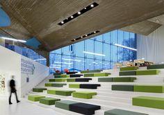 Seinäjoki Library. Location: Seinäjoki, Finlandia; architect: JKMM Architects; year: 2012