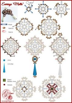 beaded earrings viktoria romanova 2 of 2 Bead Jewellery, Seed Bead Jewelry, Seed Bead Earrings, Beaded Earrings, Handmade Beaded Jewelry, Beaded Jewelry Patterns, Seed Bead Patterns, Beading Patterns, Jewelry Making Tutorials