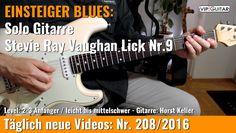 ✪ EINSTEIGER BLUES ►Stevie Ray Vaughan Lick Nr.9