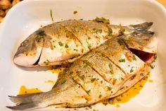 Whole BBQ fish in Moroccan marinade Whole Fish Recipes, Sole Fish, Fish Marinade, White Meat, Fresh Lemon Juice, 4 Ingredients, Barbecue, Moroccan