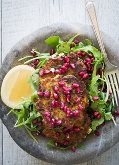Well Nourished ⎮ Zucchini, Mint and Haloumi Fritters