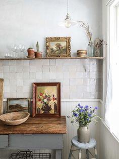 Home Interior Decoration .Home Interior Decoration Cozinha Shabby Chic, Kitchen Design, Kitchen Decor, Kitchen Shop, Kitchen Backsplash, Interior Decorating, Interior Design, Decorating Ideas, Interior Paint