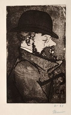 Portrait of Toulouse-Lautrec ~ Charles Maurin