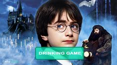 Harry Potter and the Sorcerer's Stone Drinking Game Drinking Games For Parties, Rick And Morty Season, Philosophers Stone, The Sorcerer's Stone, Fancy Drinks, New Life, Boys Who, Hogwarts, Singing