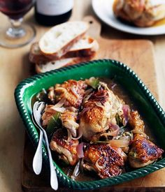 Chicken Marsala - succulent and moist chicken with lemon