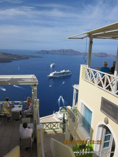Every step is up a hill or down a hill. Nothing flat on this island Greek Isles, Santorini Greece, Marina Bay Sands, Island, Spaces, Flat, Building, Summer, Travel