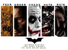 The Dark Knight Trilogy Villains by lordrogersmith6485.deviantart.com