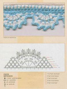 barrados crochet - Buscar con Google