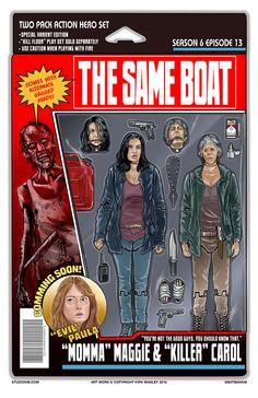 """The Same Boat"" | S6E13 | The Walking Dead (AMC)"