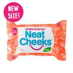 Neat Cheeks Peach Face Wipes