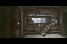 ArtStation - Sci-Fi Bedroom, Stefan Morrell