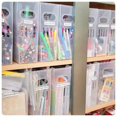 44 smart small apartment decorating ideas on a budget 28 Craft Closet Organization, Office Organization At Work, Craft Room Storage, Gift Bag Storage, Medicine Organization, Art Supplies Storage, Small Space Interior Design, Small Apartment Decorating, Container Store