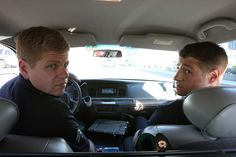 Southland...Michael Cudlitz and Ben Mckenzie....I have met both of them, both great guys!
