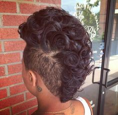 Mohawk curls                                                                                                                                                                                 More