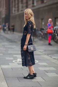 Lace Street Style Fashion Week A Style Album