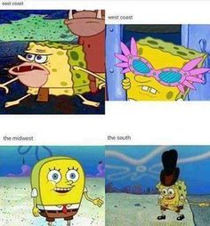 Ope sorry, just a Midwest dump - Humor - Memes Really Funny Memes, Stupid Funny Memes, Funny Relatable Memes, Haha Funny, Funny Posts, Hilarious, Funny Shit, Funny Spongebob Memes, Cartoon Memes
