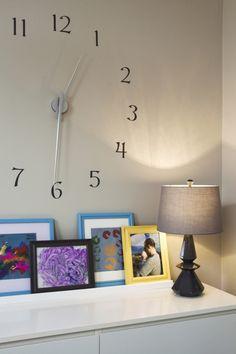 ❉ 'wall' clock   want to make this!!