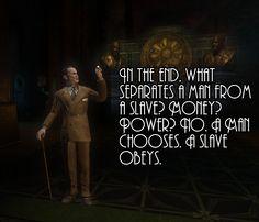 Andrew Ryan from BioShock