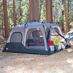 Best Family Tent : Coleman Instant 14- by 10- Foot 8- Person Two Room Tent