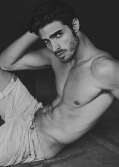 What do you say about male modelling?
