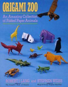 Origami zoo robert j lang