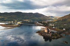 Eilean Donan Castle, le château le plus célèbre d'Ecosse Eilean Donan, Château Fort, Tours, Scotland, Castle, Europe, River, Outdoor, Romantic Travel