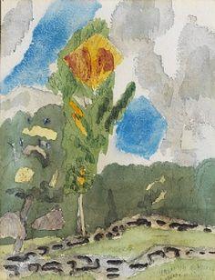 """""""Autumn Scene"""" 1918 - John Marin"""