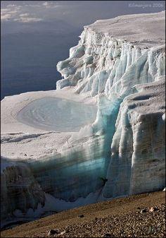 Decken Glacier, Kilimanjaro ~ Tanzania Mais