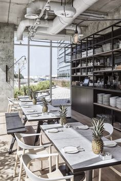 cafe, boutique cafe, marble, black wood, concrete, industrial, marble, abu dhabi, anarchitect