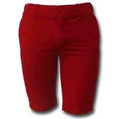 Pantalón Finally color rojo