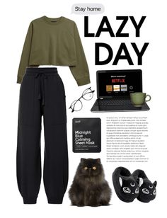 Discover outfit ideas for let's Stay Home made with the shoplook outfit maker. How to wear ideas for Glasses and stay home🤍 Cute Lazy Outfits, Chill Outfits, Retro Outfits, Outfits For Teens, Stylish Outfits, Looks Teen, Vetement Fashion, Home Outfit, Kpop Fashion Outfits