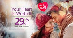 Before Valentine's Day, talk to top love psychics and take a special 29% off!