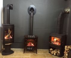 Jotul GF373 BF and Jotul GF300 CF gas stoves recently added to our Colney Heath showroom