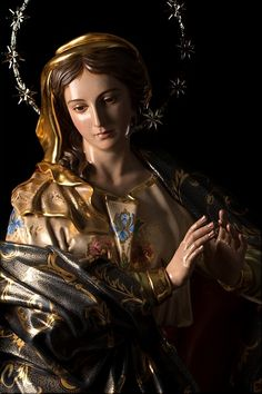 Mother Mary Images, Images Of Mary, Blessed Mother Mary, Blessed Virgin Mary, Catholic Art, Religious Art, Virgin Mary Art, Jesus Christ Painting, Our Lady Of Sorrows
