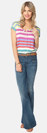Jeans are a-ok for Sunday's travel day or Saturday's free time. (source: Nordstrom)