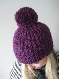 Knitting For Kids, Loom Knitting, Knitting Patterns, Crochet Patterns, Crochet Beanie, Crochet Baby, Knitted Hats, Knit Crochet, Crochet Needles