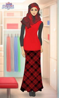 Hijab Muslim, High Neck Dress, Quotes, Dresses, Fashion, Quotations, Vestidos, Moda, Gowns
