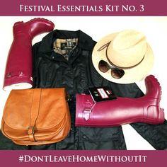 #Festival Essentials Kit www.bestinthecountry.co.uk