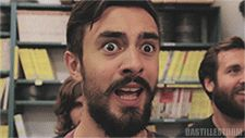 Kyle Simmons' Reaction GIF For All Things. Best range of facial expressions ever.