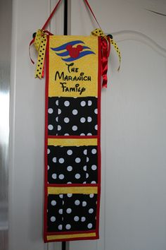 Someday we will go on a Disney Cruise and I must make one of these and find the groups!